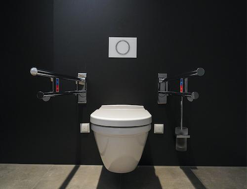 MEPA - WC-Systemlösungen für barrierefreie Spülauslösungen