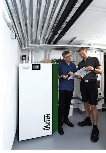ÖkoFEN - Pellematic Condens nun von 22 bis 32 kW