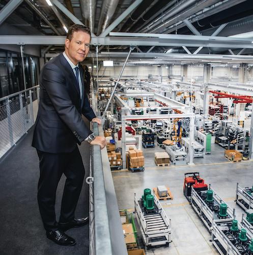 Oliver Hermes Vorstandsvorsitzender und CEO der Wilo Gruppe