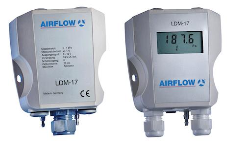 Airflow - Neuer Differenzdruckmessumformer