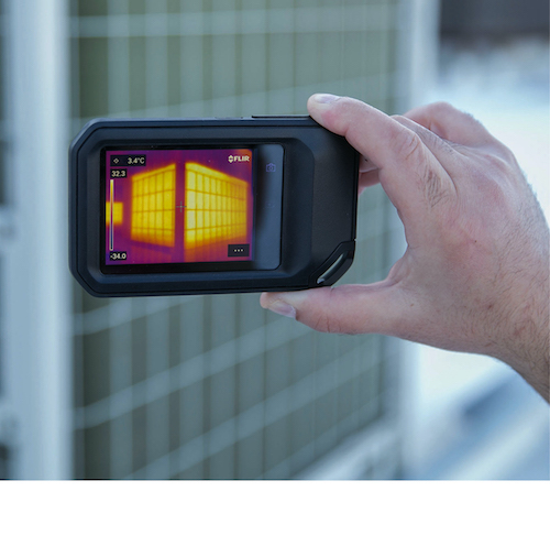 FLIR - Wärmebildkamera mit Cloud-Konnektivität