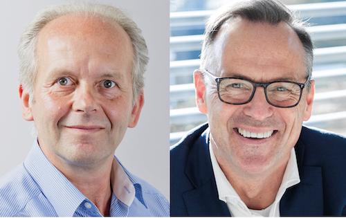 v.l.: Manfred Stratmann und Thomas Musial