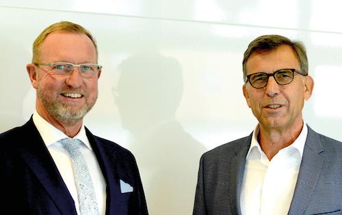 v.l. Lubert Winnecken und Hartmut Dalheimer