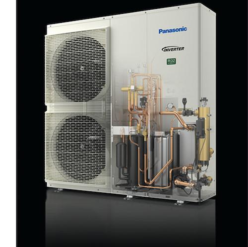 Panasonic Monoblock Luft-Wasser-Wärmepumpe der T-CAP-Baureihe